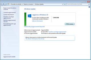 Come bloccare aggiornamenti di Windows