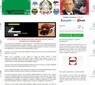 Rimozione Virus Arma dei Carabinieri