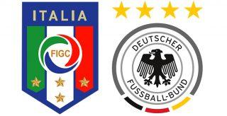Italia-Germania orario diretta Tv