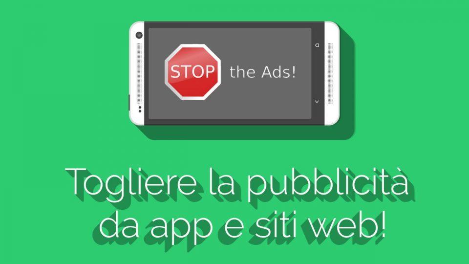 Come bloccare la pubblicità sul Cellulare