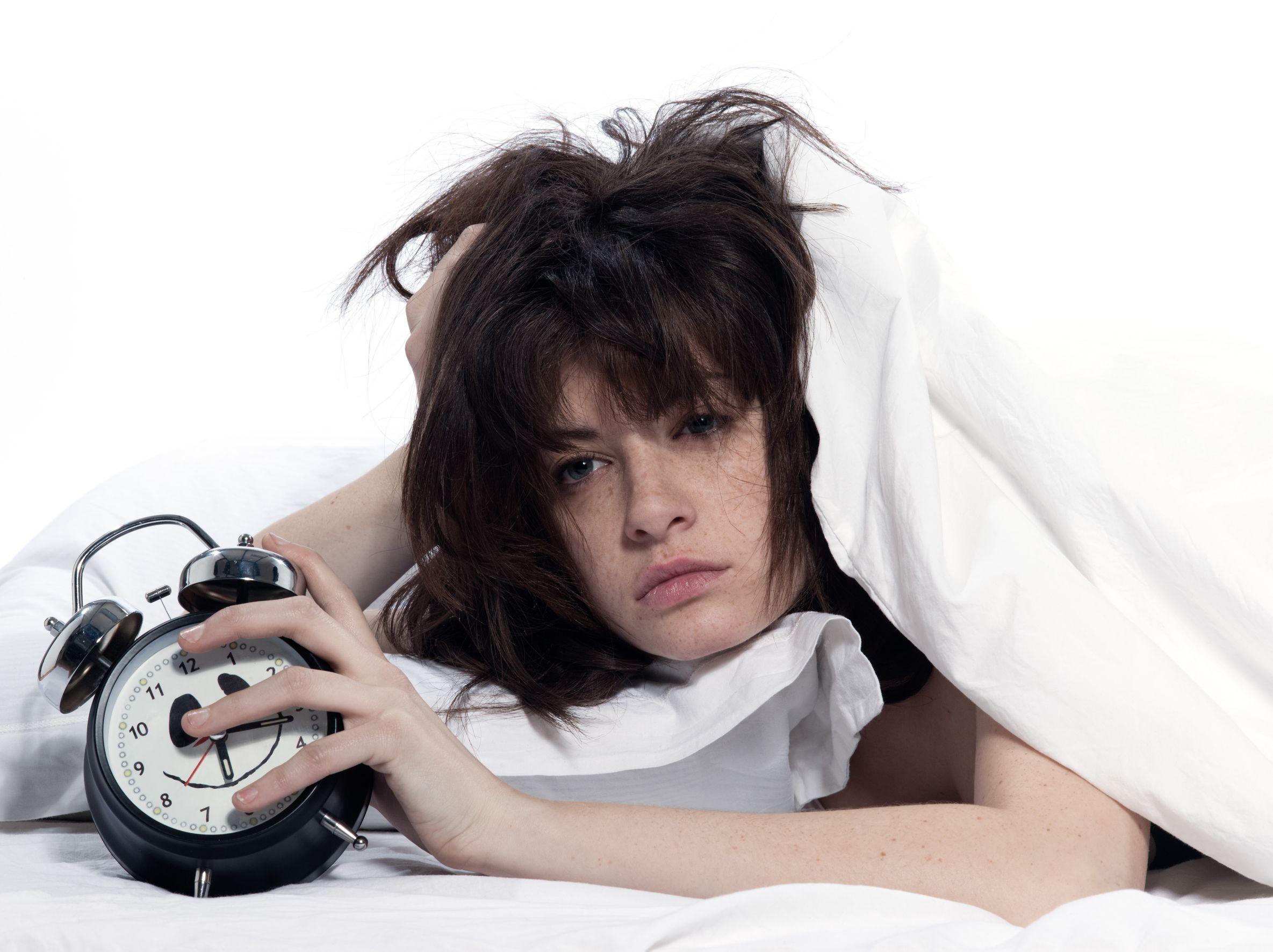 Le donne quando non riescono a dormire