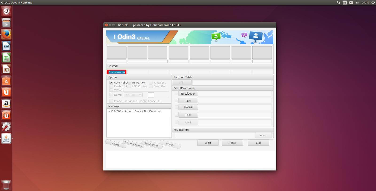 Installare Odin su Ubuntu