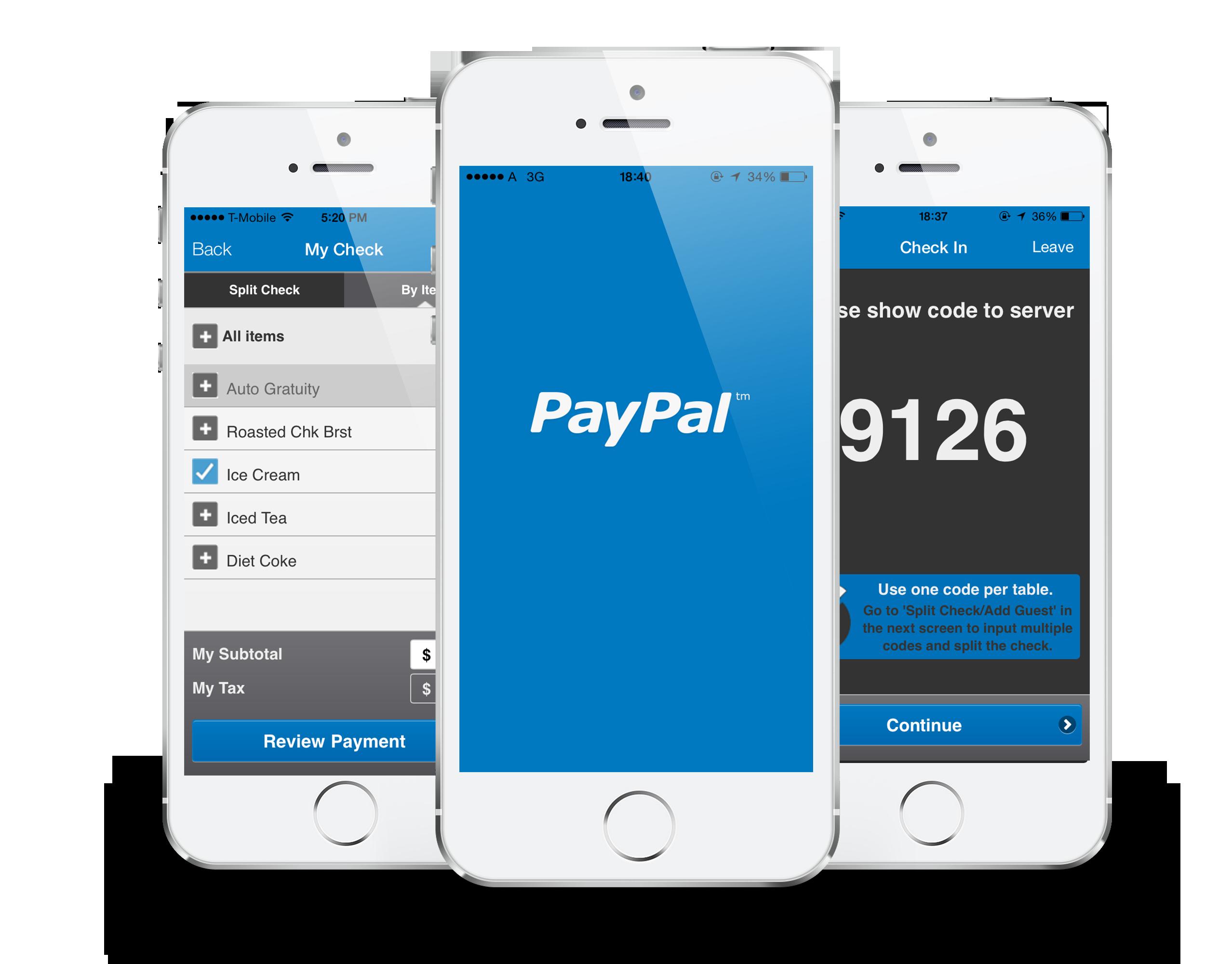 Controlla il credito con PayPal Mobile