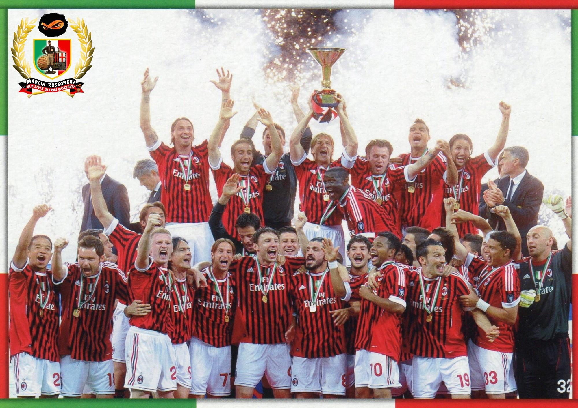 Lo scudetto del Milan 2010 2011