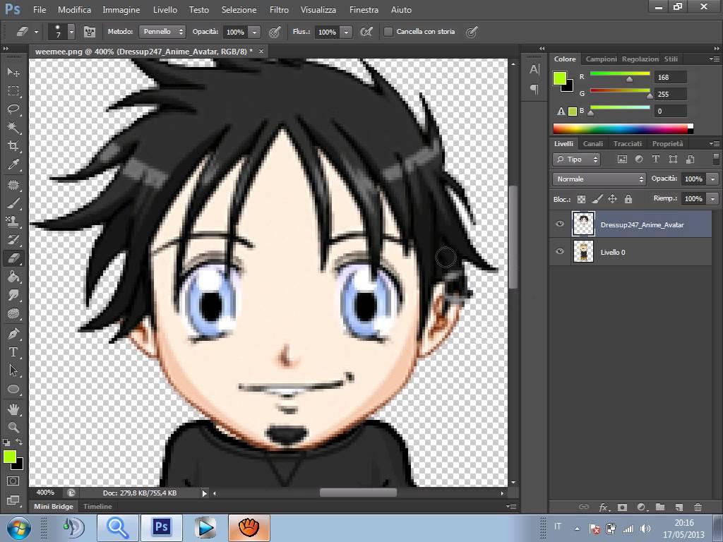 Come creare un avatar