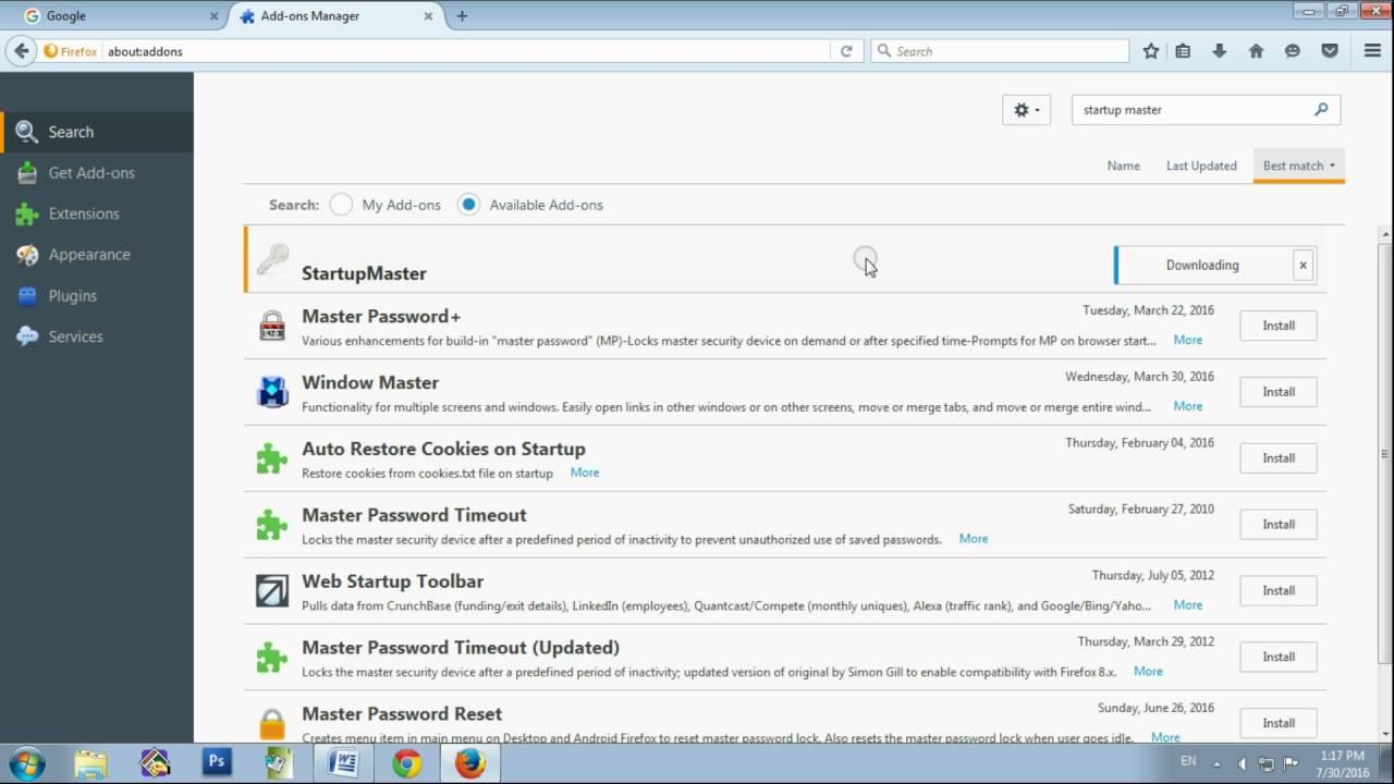 Come trovare Password Mozilla Firefox