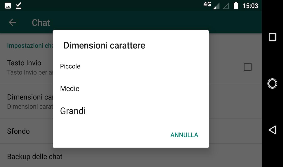 Trucchi Whatsapp Grassetto