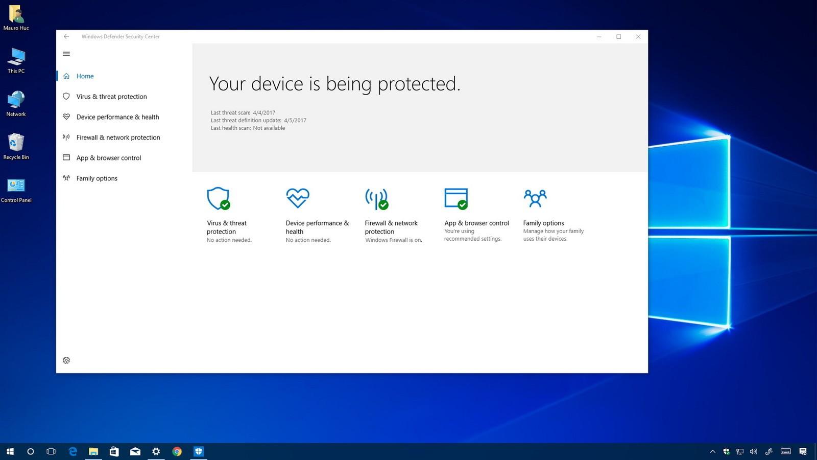 Come disattivare Windows Defender