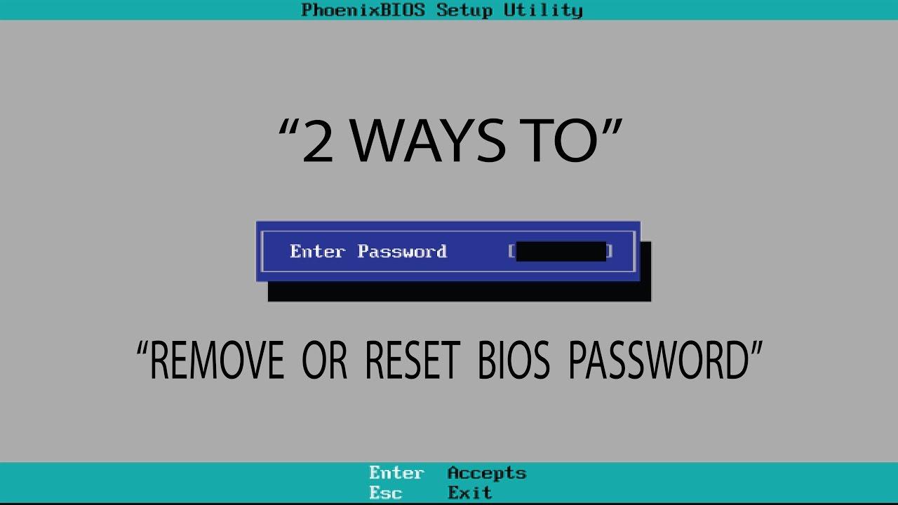 Come scoprire password Bios