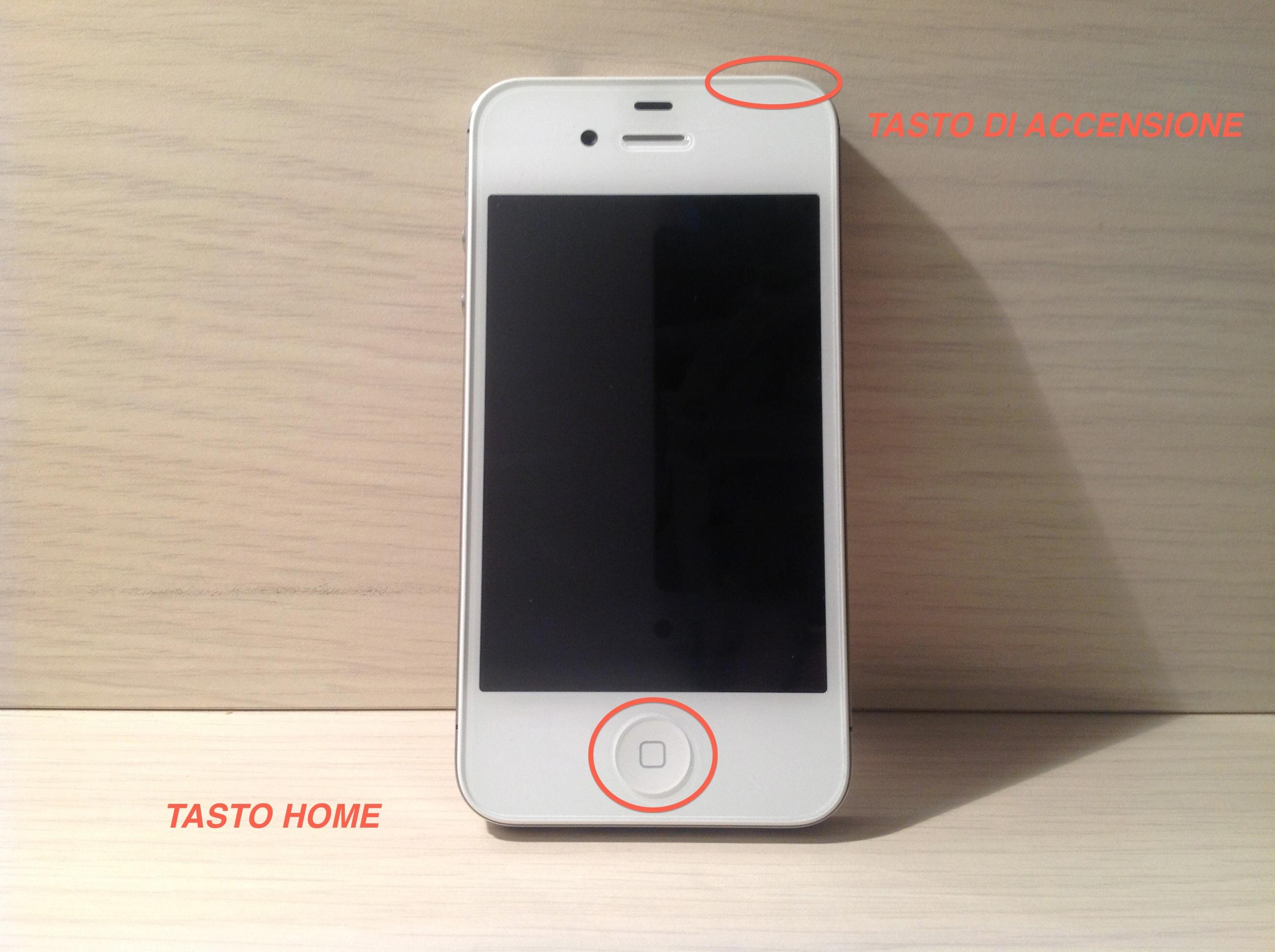 Mettere iphone in dfu senza tasti