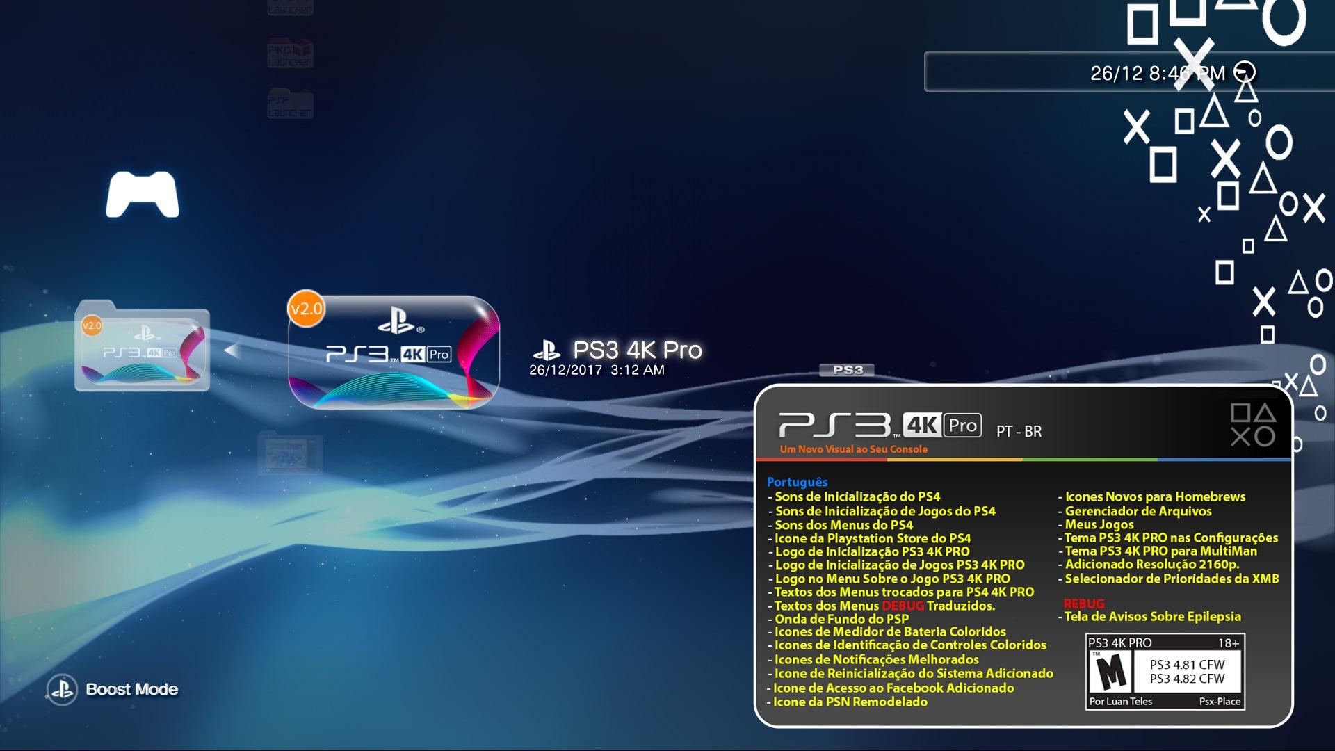 Come installare file pkg su PS3