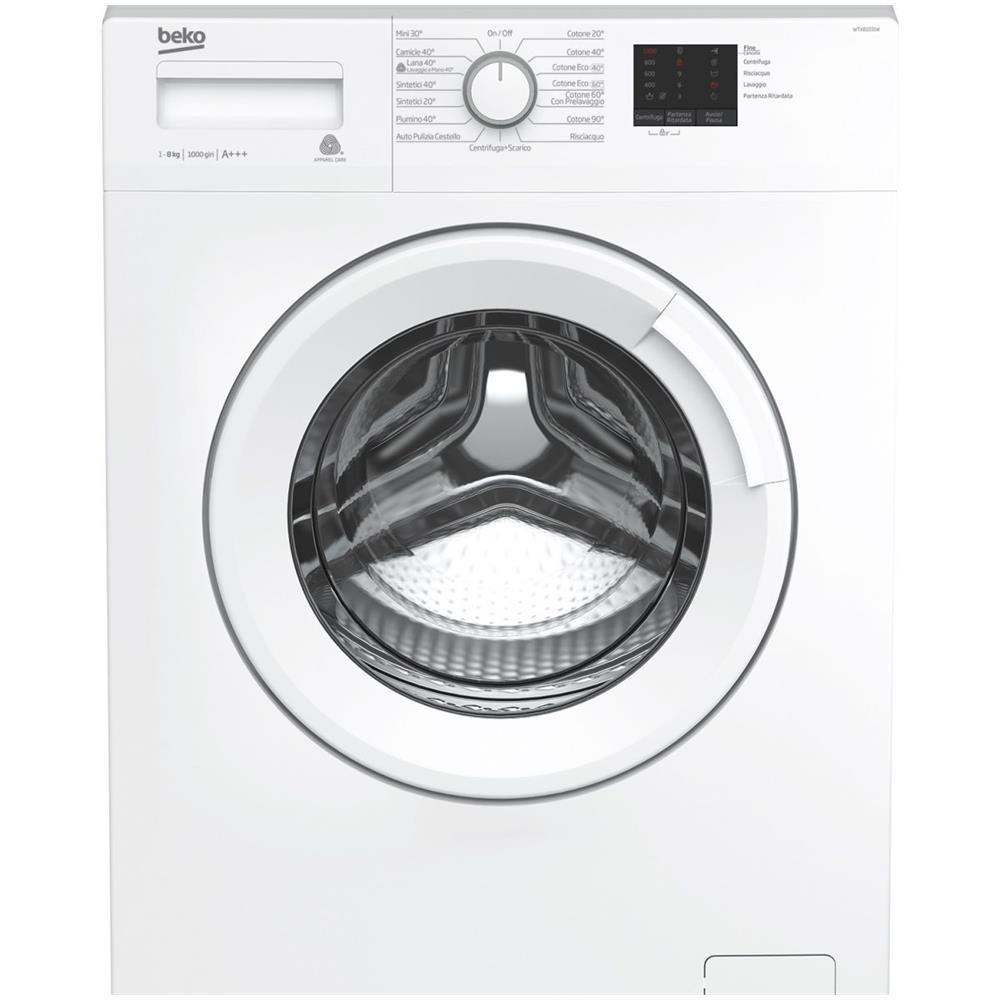 Codici errore lavatrice Beko