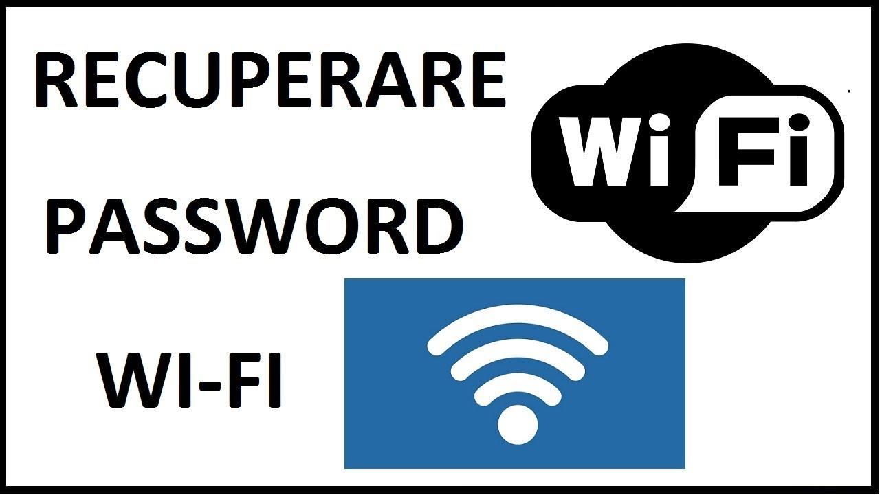 Recupero password Wifi Telecom